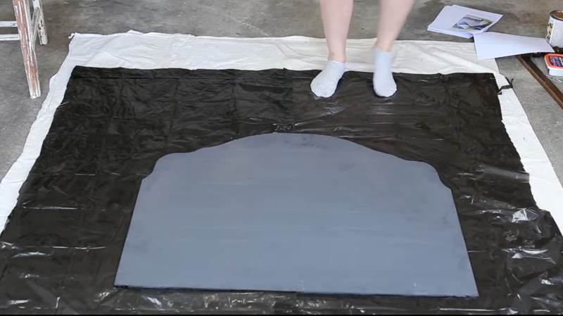 How To Antique A Mirror-2