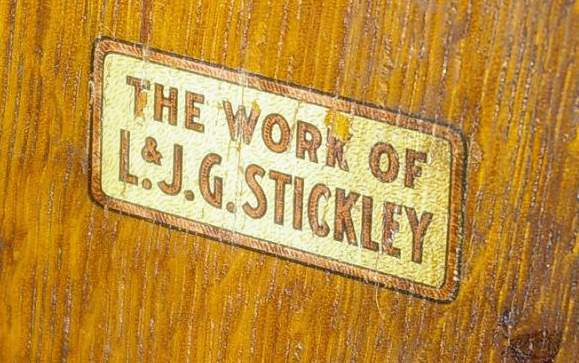 Antique Furniture with a Label
