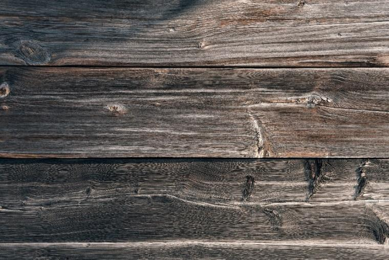 Antique Table Made with Various Types of Wood