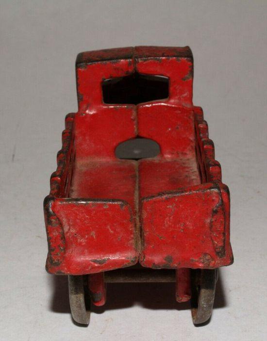 1930's AC Williams Mack Cast iron Stake Truck-1