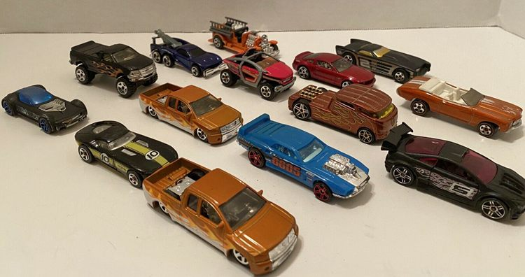Ford trucks and cars