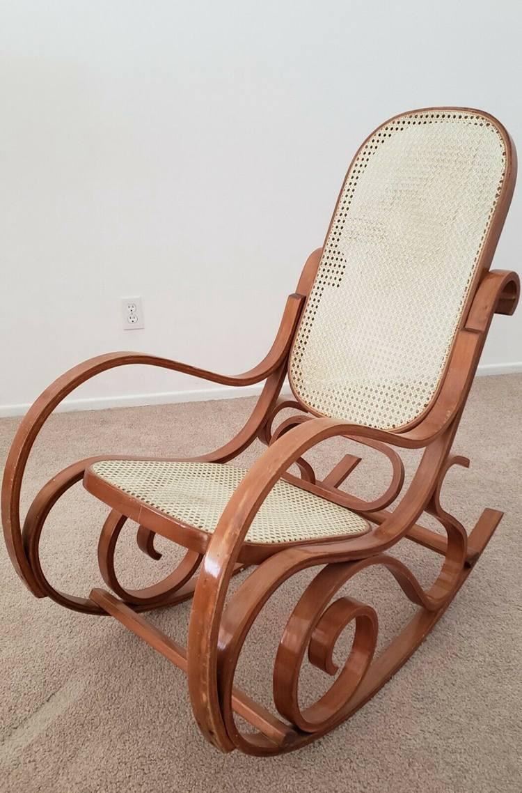 Bentwood Rocker Rocking Chair Thonet Style