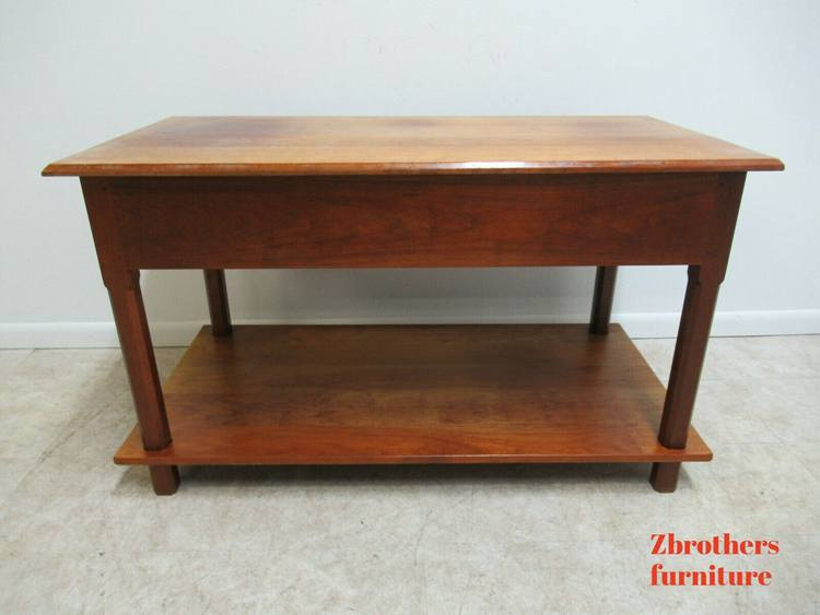 David T Smith Cabinetmaker Shaker Style Work Table Credenza Console B