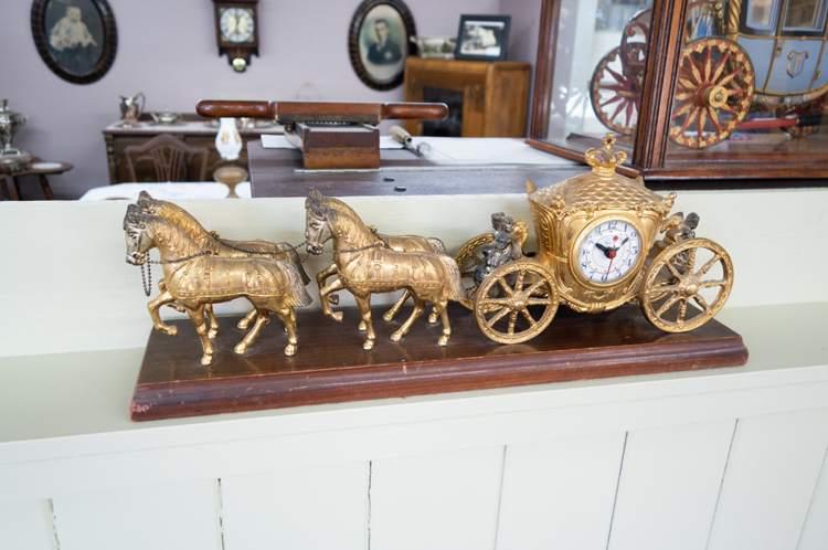 Fairy-tale carriage clock