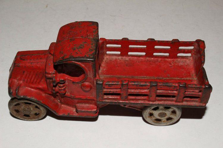 Original Cast Iron Truck