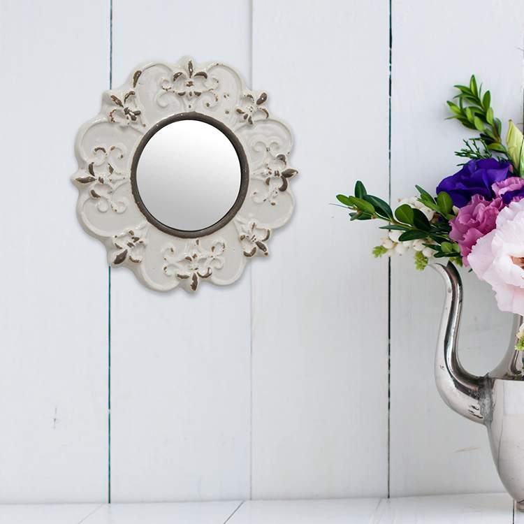 14. Best Antique Ceramic Wall Mirror