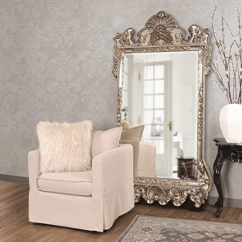 23. Howard Elliott Marquette Antique Oversized Mirror