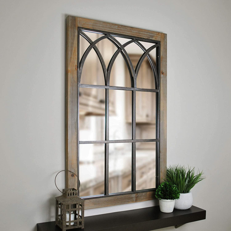 24. Grandview Arched Window Mirror