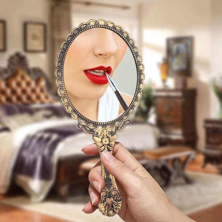 4. Yusong Vintage Handheld Mirror
