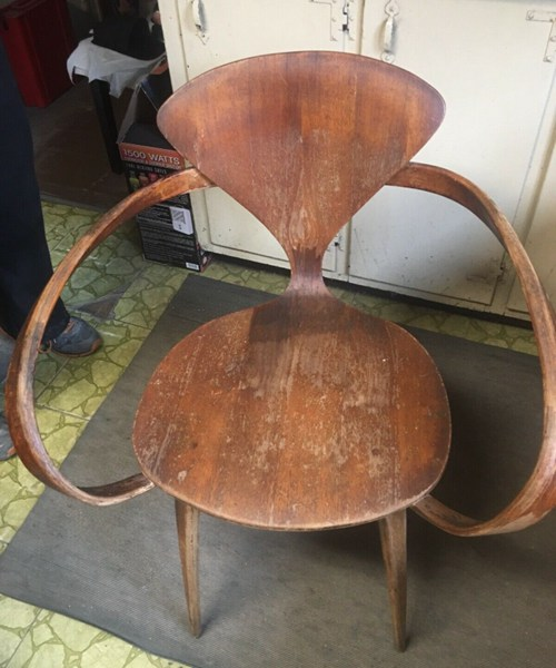 Antique Cherner chair