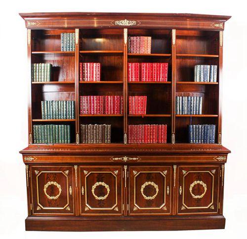 Antique Empire Bookcase