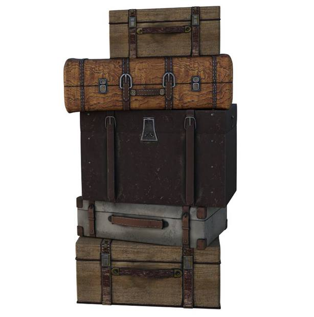 Antique Trunks - Identification _ Value Guide