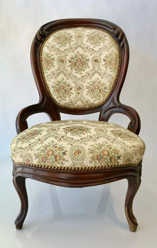 Antique Victorian Carved Chair