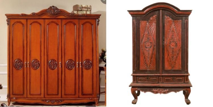 Differences Between an Armoire & a Wardrobe