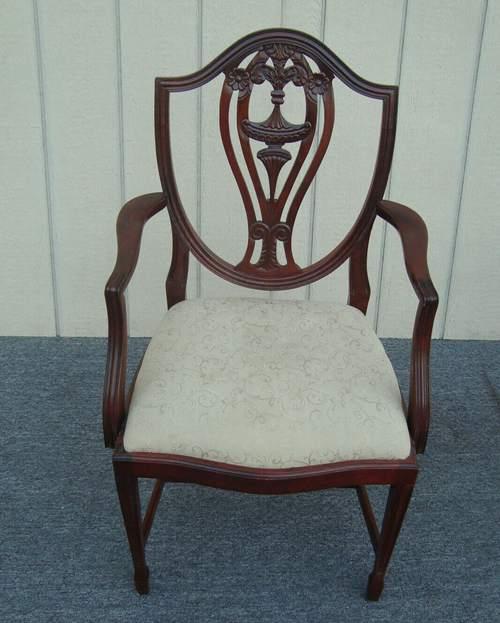 Hepplewhite antique dining chairs