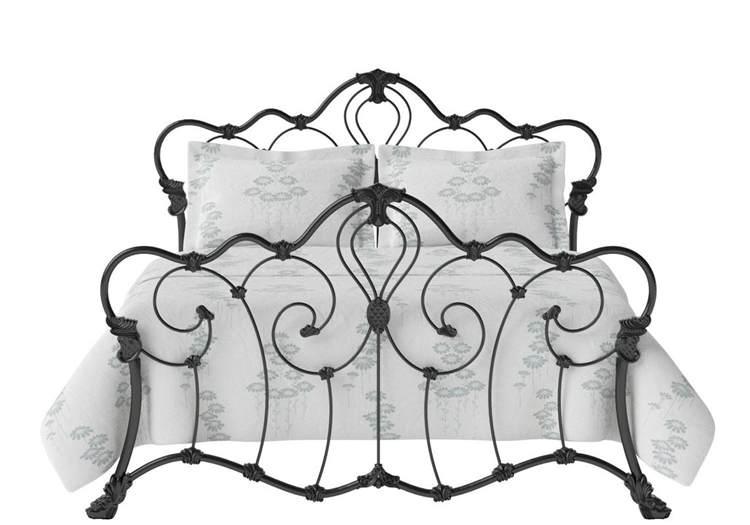 Luain Antique Iron Bed