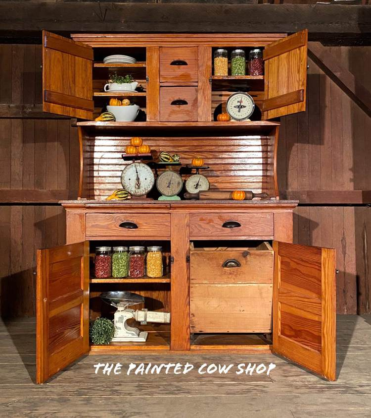 Sold Sold. Sold Antique Hoosier Style Country Kitchen Cabinet, Baker's Cabinet , vintage cupboard