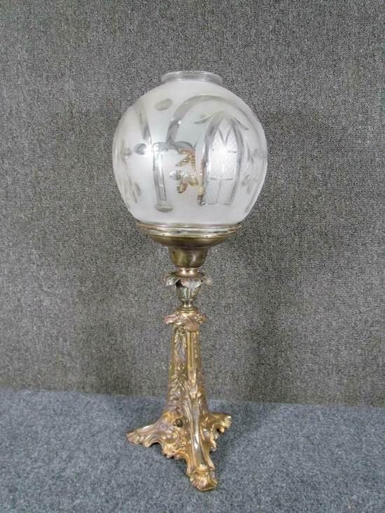 ASTRAL SOLAR BRASS LAMP