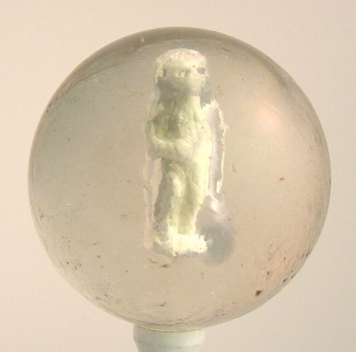 Antique Handmade German Sulphide Marble