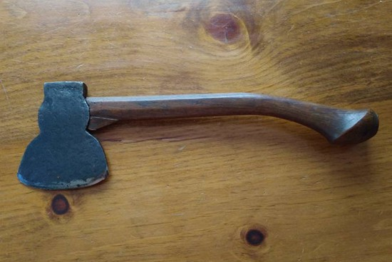 Cool Antique Hatchet With Unique Handle-Vintage from the 1920s