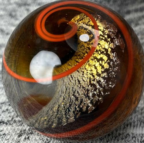 Handmade Marble Gold Stone ! (Mica Core - Foil Core Rare)