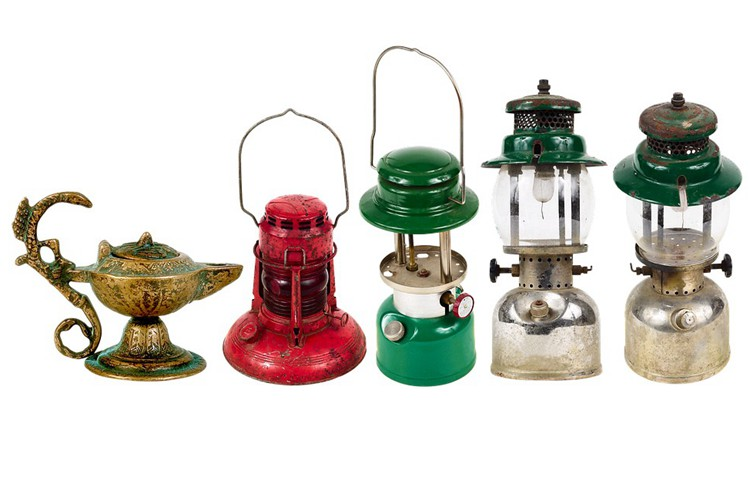 How to Identify Antique Oil Lamps for Values