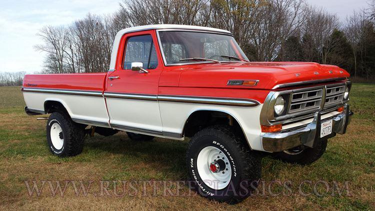 1967-1977 Ford F-250 Highboy Truck