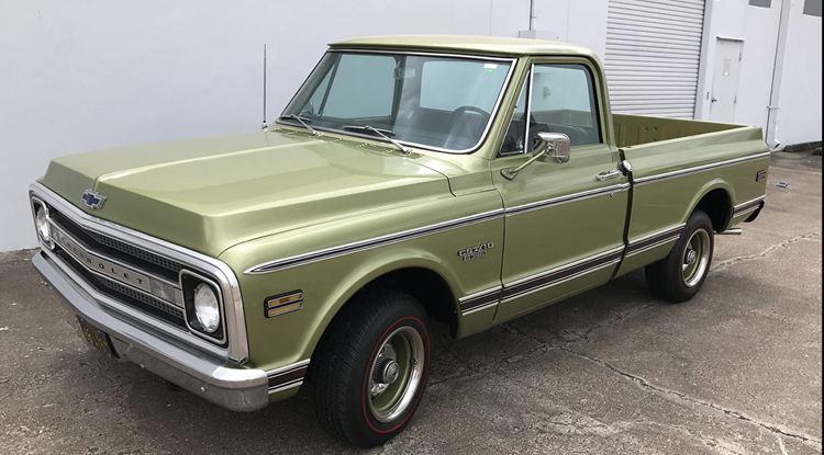 1969 Chevrolet C10 Mecum