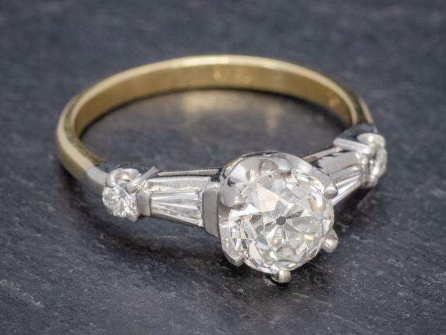 Antique Edwardian Diamond Ring