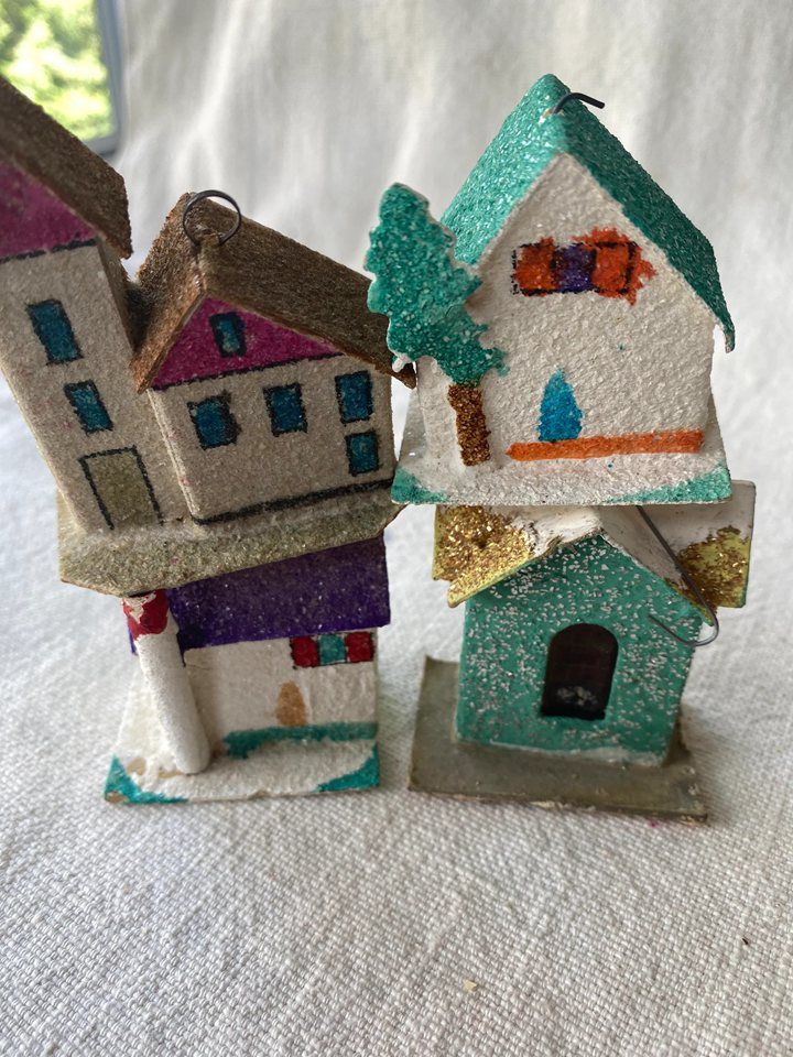 Cardboard Christmas Houses