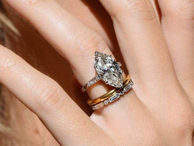 Edwardian Carat Marquise Ring