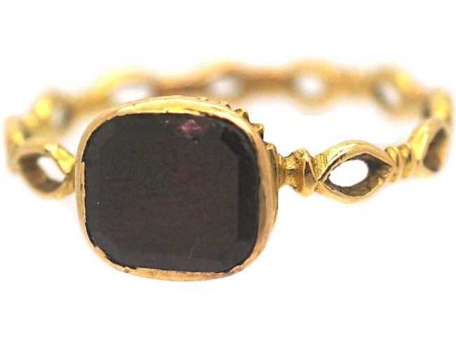 Georgian 18ct Gold Ring