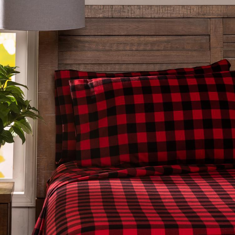 Red Buffalo Check Bedding