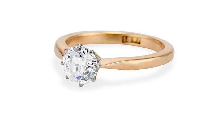 Victorian 1.13 CARAT Engagement Ring