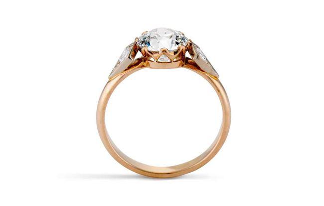 Victorian 1.75 CARAT Engagement Ring