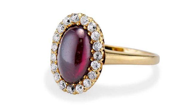 Victorian 2.80 CARAT Engagement Ring