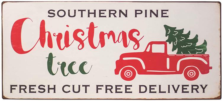 Vintage Christmas Signs