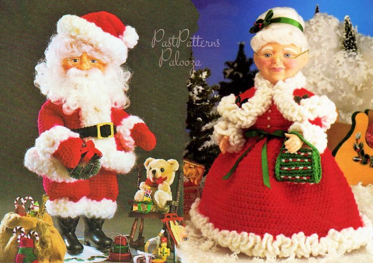 Vintage Santa Claus Decor