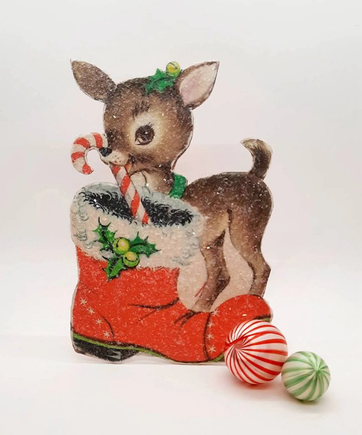 Vintage Style Christmas Standees