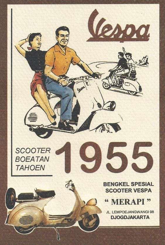 1955 Vespa Ad