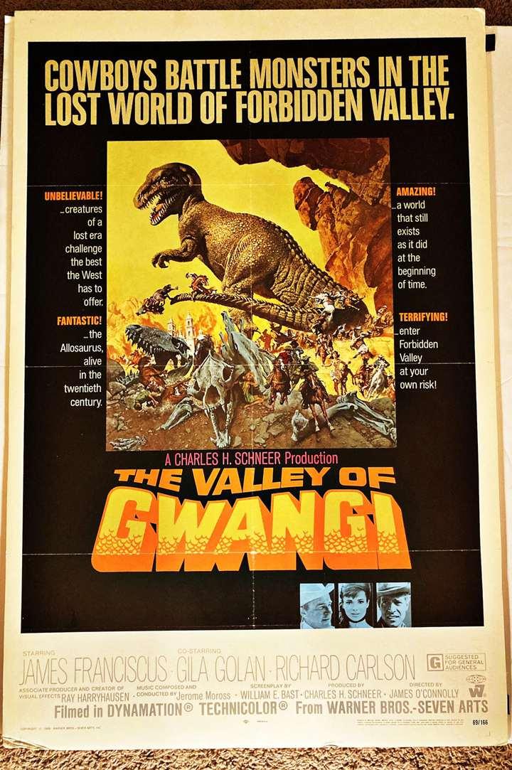 1969- The Valley Of Gwangi
