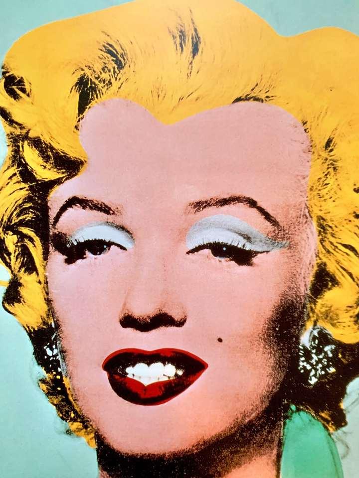 """Andy Warhol- """"Marilyn"""" 1989"""