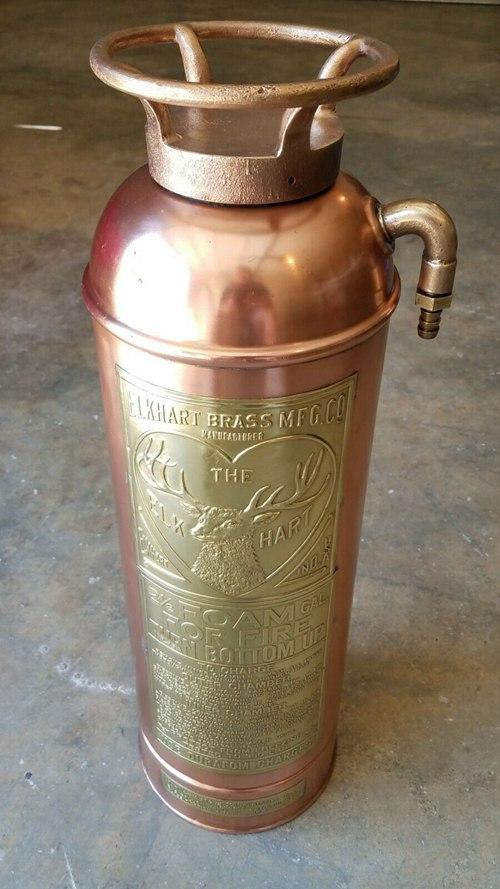 Antique Elk Hart Foam Fire Extinguisher