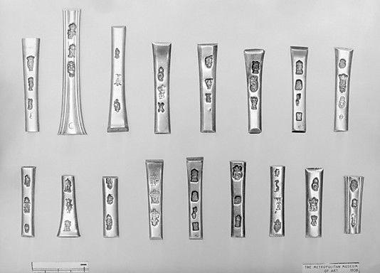 Antique Silver Spoon Markings