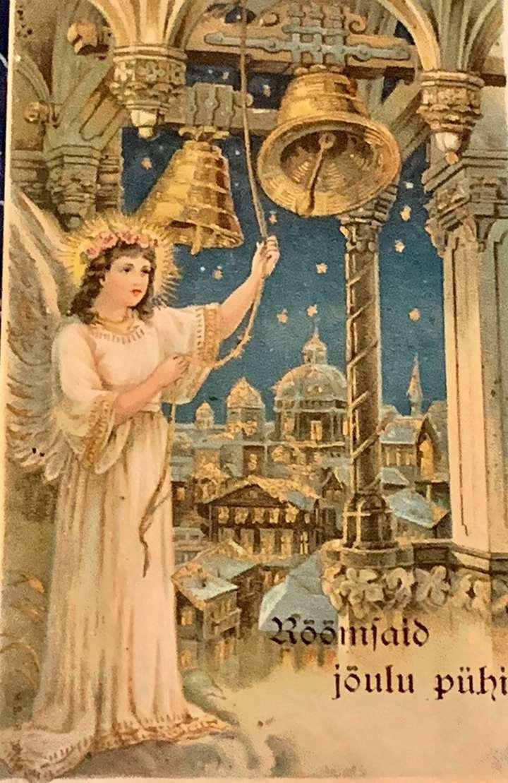 Beautiful Angel Christmas Card