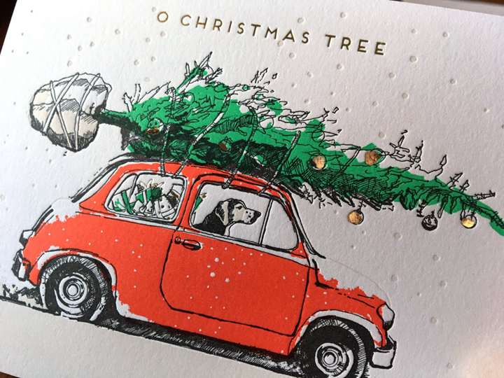 Christmas Tree Dog In Fiat
