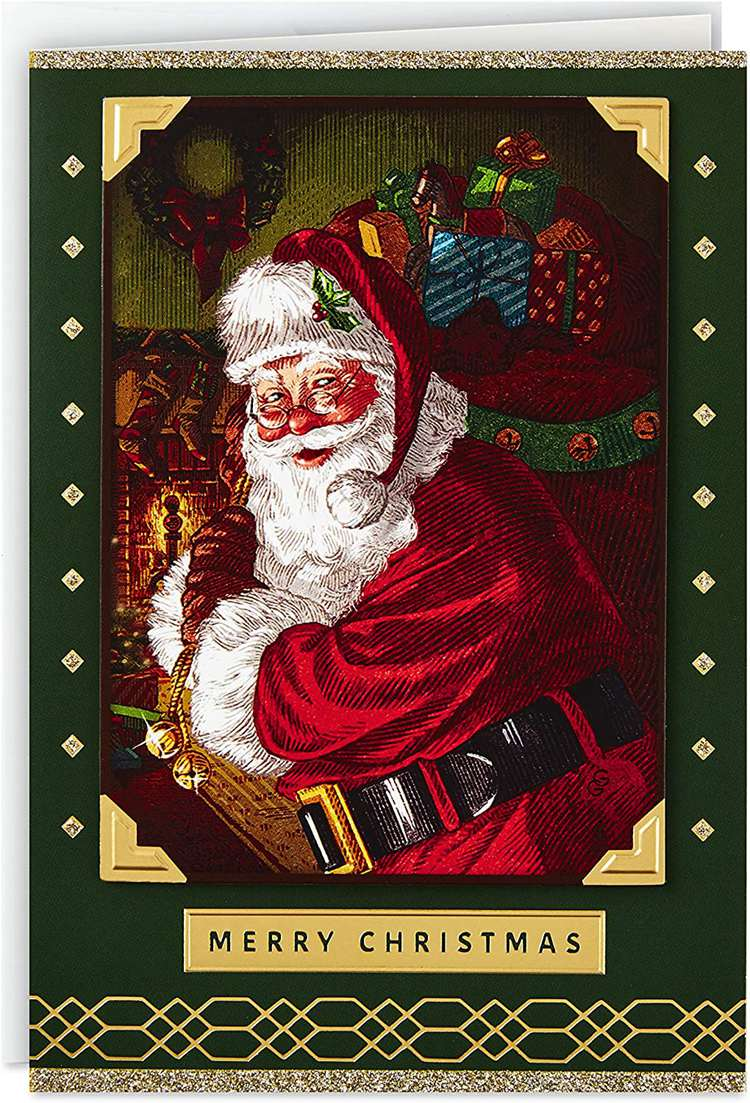 Hallmark Boxed Classic Christmas Card