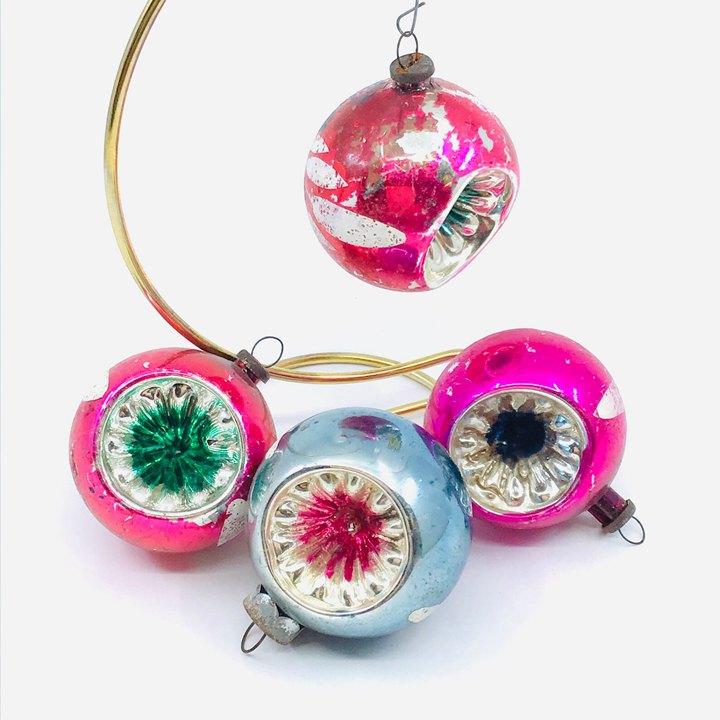 Indented Antique Ornament
