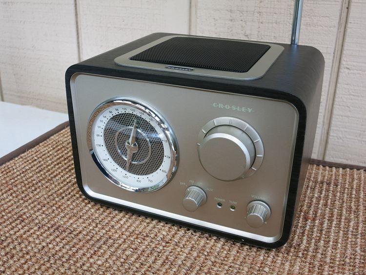 Modern Crosley radio – the CR3003A
