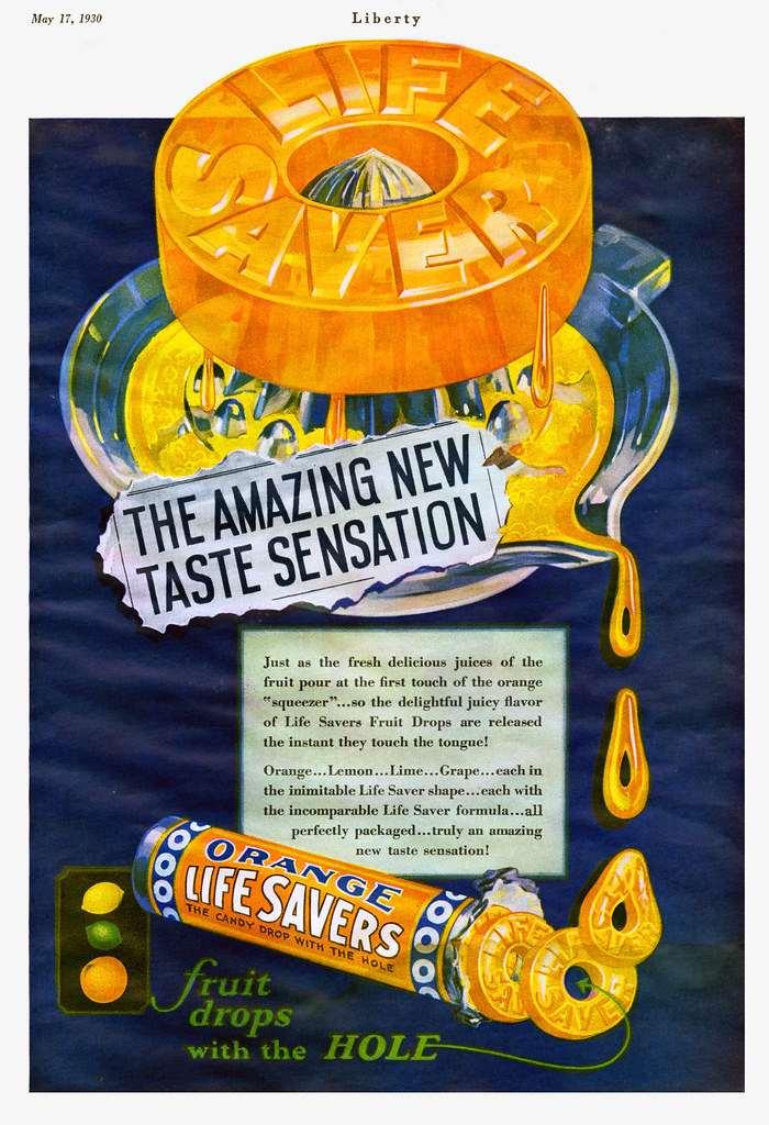 Vintage Candy Ads